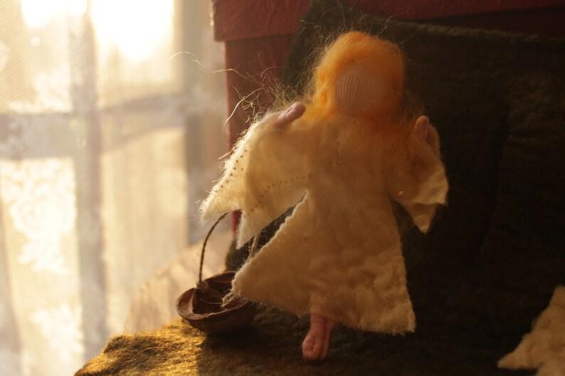 Angel post, Advent calendar
