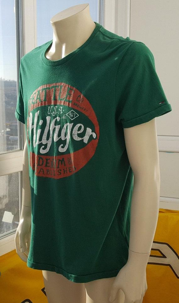 90s Vintage Tommy Hilfiger shirt Vintage American… - image 5