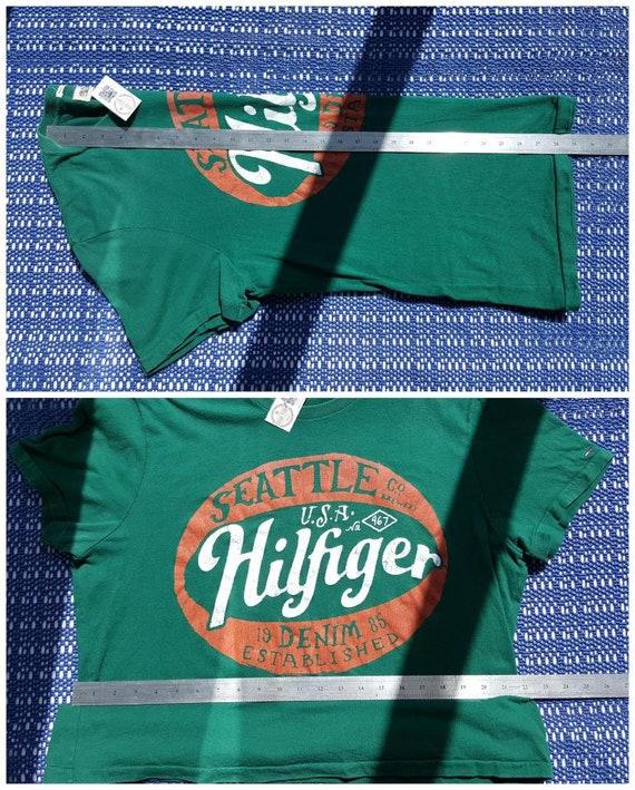 90s Vintage Tommy Hilfiger shirt Vintage American… - image 9