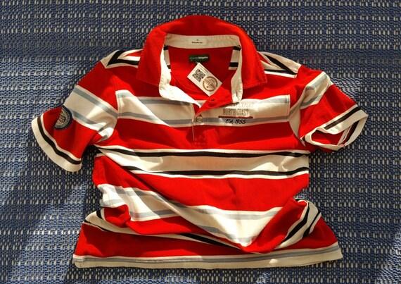 90s Vintage Striped t shirt Mens Vintage 90s tshir