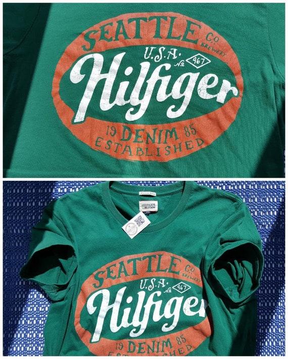 90s Vintage Tommy Hilfiger shirt Vintage American… - image 8