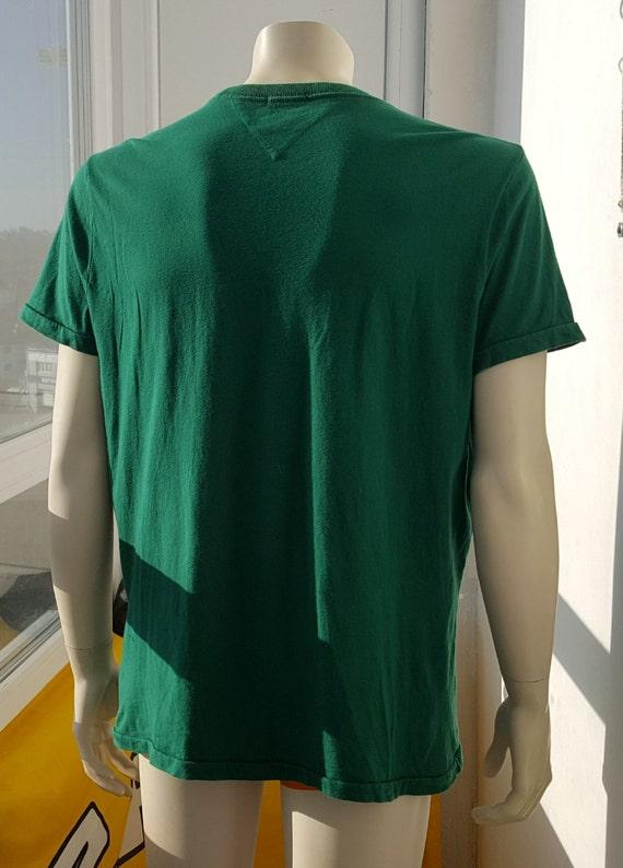 90s Vintage Tommy Hilfiger shirt Vintage American… - image 6