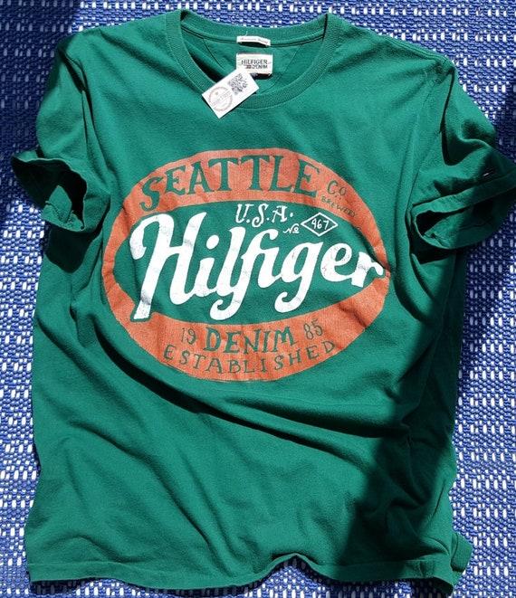 90s Vintage Tommy Hilfiger shirt Vintage American… - image 4