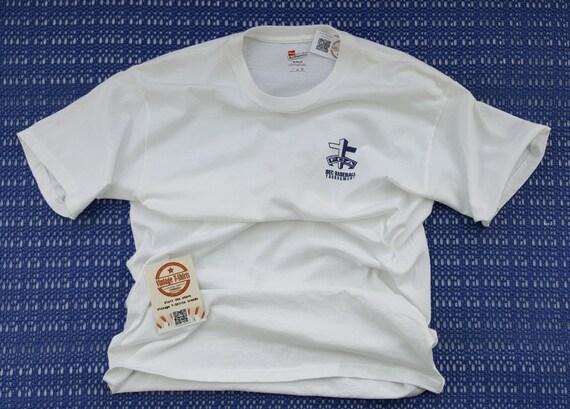 Vintage baseball shirt Athletic mens tshirt 90s Vi