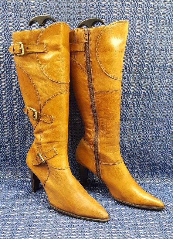 Vintage leather boots Womens Vintage Boots vintage