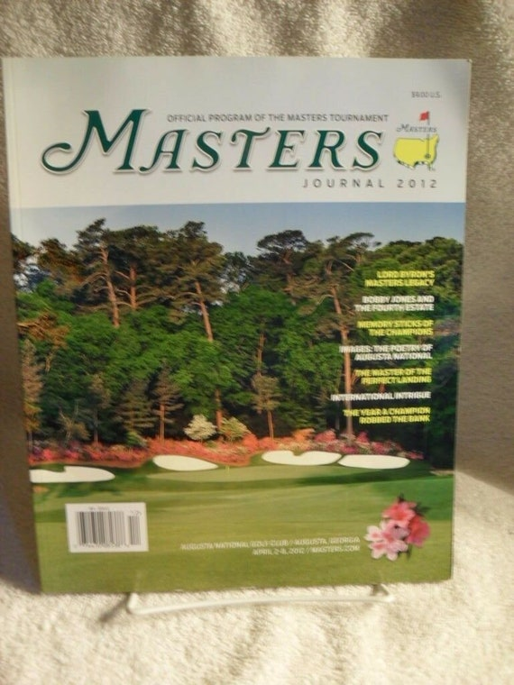 The Masters Journal 2012 The Masters Official Prog