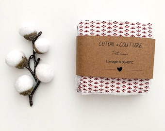 Washable make-up remover wipes