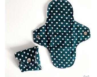 Patterned washable sanitary towels