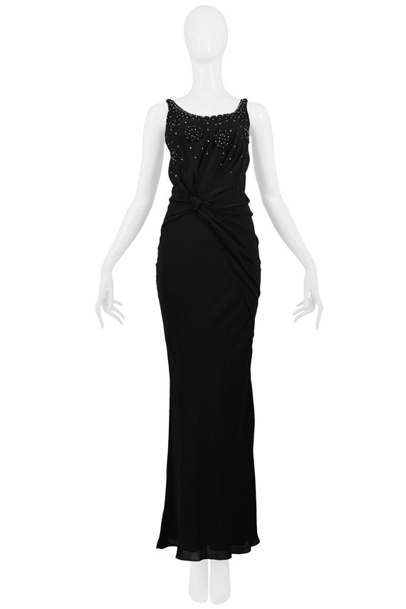 Vintage Christian Dior By John Galliano Black Crys