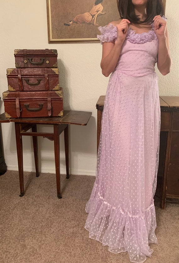 LILAC - Lavender Formal Gown