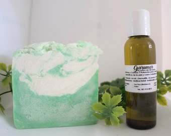 """Kit of """"7 Powers"""" - Handmade Soap and Essential Oil 2oz."""