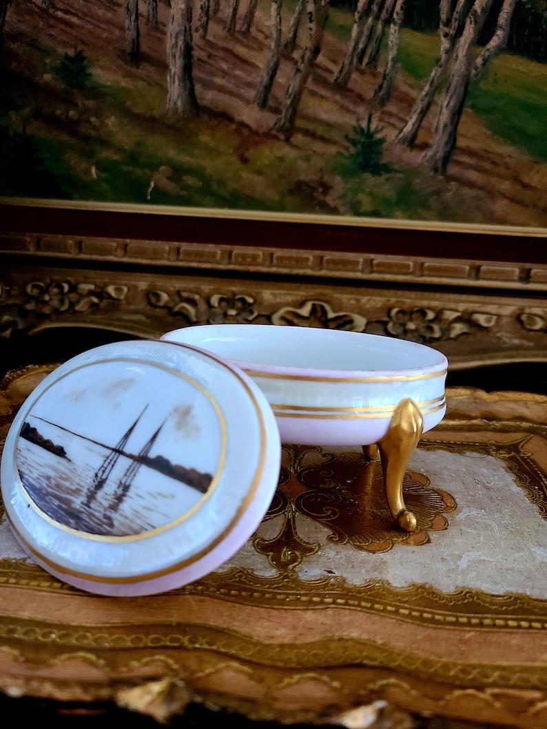 Vintage Limoges France Jewelry Box