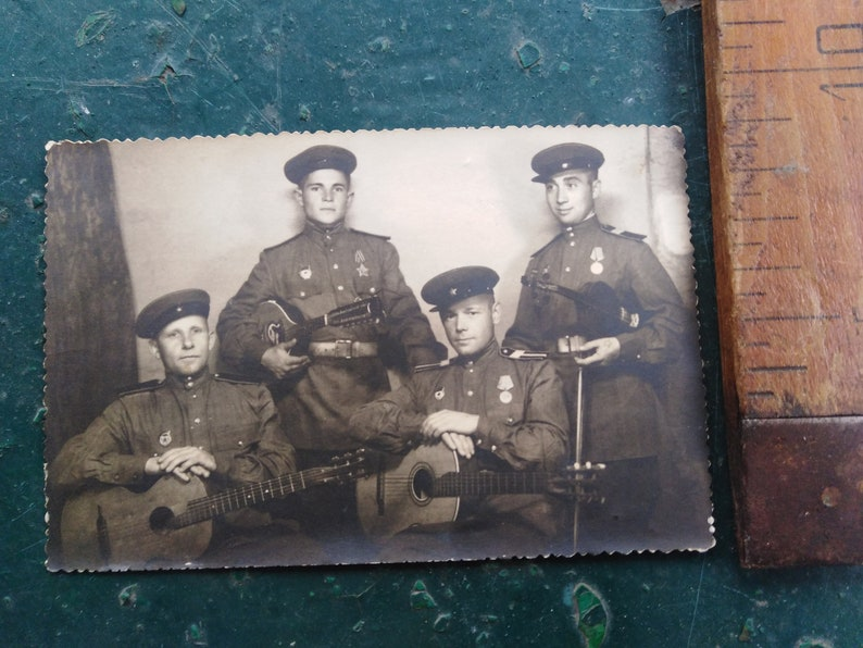 collectible soviet union antiques art vintage rarity exclusive war retro. Photo depicting the military ensemble of the USSR