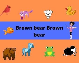 Brown Bear Brown Bear | Early Years Set | DIGITAL Brown Bear, Brown Bear | Activity Set
