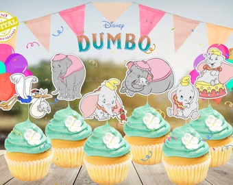 Bullyland Disney Dumbo Figur stehend Torte Cake Deko Sammelfigur Elefant Zirkus