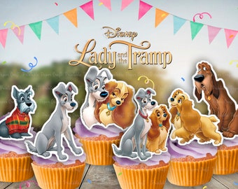Lady And Tramp Cake Etsy