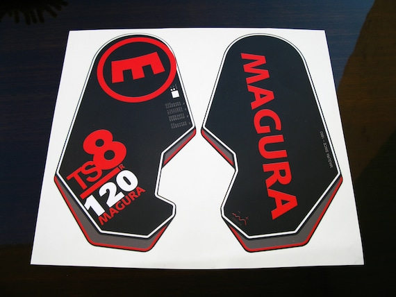 Fork Sticker for Magura TS8 MTB Mountain Bike Bicycle Cycling Decals