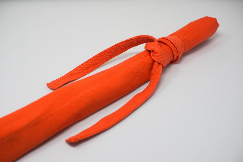 The PANA Artisanal Fly Rod Sock Orange
