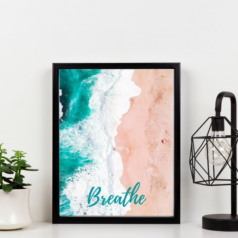 Beach Aesthetic Digital Print