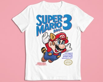 FUNNY T SHIRT MENS /& WOMENS GREAT RETRO TOP GIFT POCKET PLUMBER MARIO BROTHERS