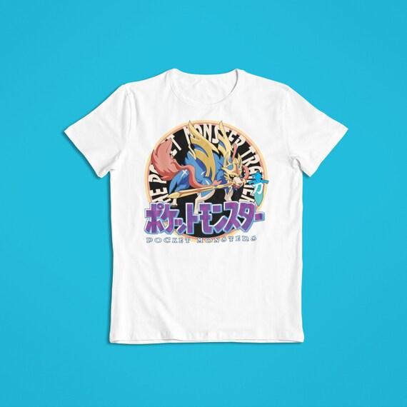 POKEMON T-Shirt Black Camo PSYDUCK Men/'s