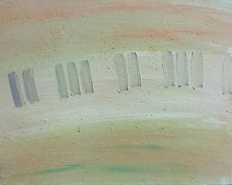 Dreamy piano  desert image 0
