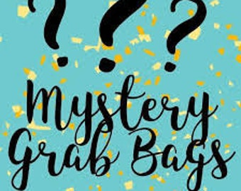 Mystery Grab Life By The Fangs Bag, handmade, signed books, handmade dolls, collectable