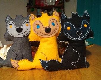Handmade, one of a kind, Werewolf doll, Marco, Bade, or Sam