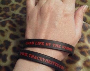 Grab Life By The Fangs bracelet