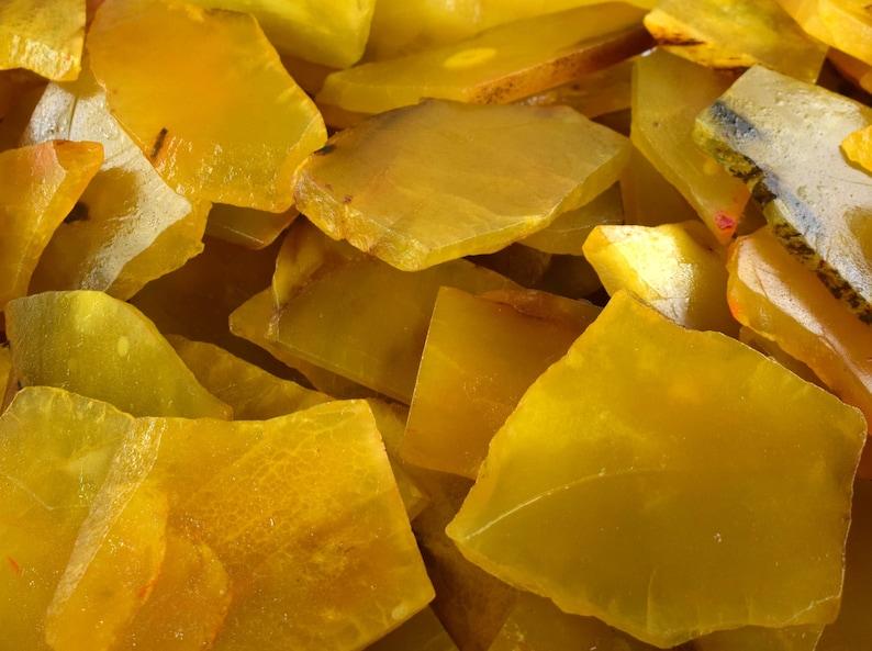 Season End Sale Yellow Sapphire Facet Gemstone Slab Rough 3000 Ct Lot Natural Madagascar