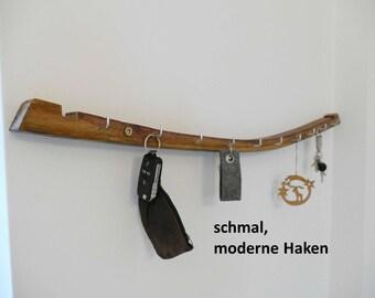 Schlüsselbrett aus alter Fassdaube