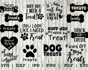 Dog Treat Jar Svg Etsy