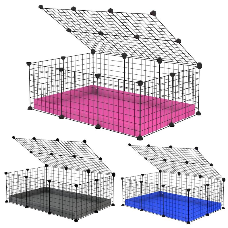 C cage Modular grid Coroplast Wire