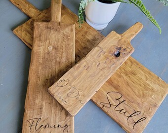 Personalized Wedding Gift Charcuterie Board , Engagement Gift, Cutting Board, Rustic Charcuterie Board, Cheese board with Last Name