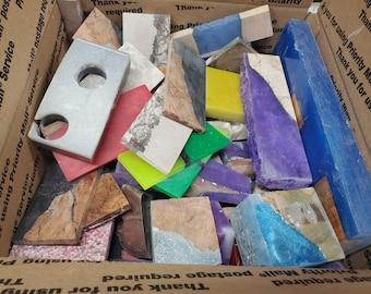 Large Flat Rate Box Full Of Resin Hybrid Cutoffs- Free Shipping