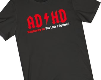 AC DC T Shirt  Funny AD HD Highway to Hell