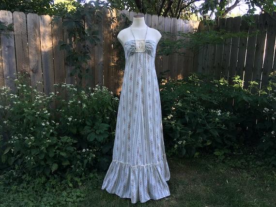 Fumi's Originals Vintage 1970s Hawaiian Dress, Sof