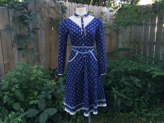 Gunne Sax Set, Jessica's Gunnies Blouse & Skirt, 7