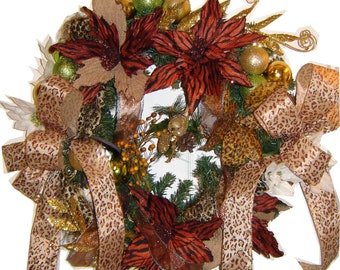 Royal African Heritage Christmas Wreath