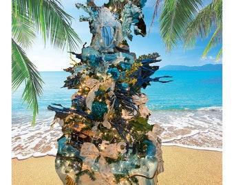 Royal Nautical Beach Christmas Tree