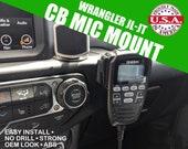 Jeep Wranger JL/JT  CB Radio Dash Mount - No Drill