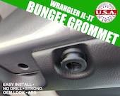Fits Jeep Wranger JL/JT  Bungee Grommet/Hook 4pcs