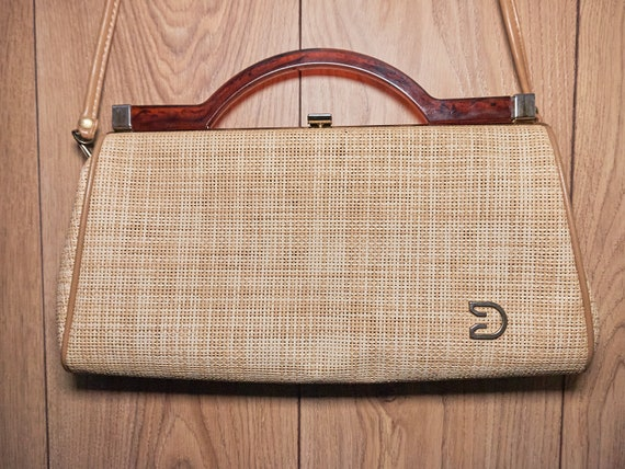 Vintage 60s  women's handbag  bag Possibly Givench