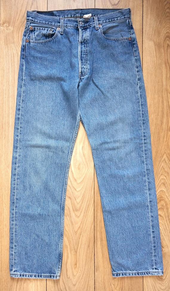 Vintage Levi's 501 Men's Jeans, Blue Denim,High Wa