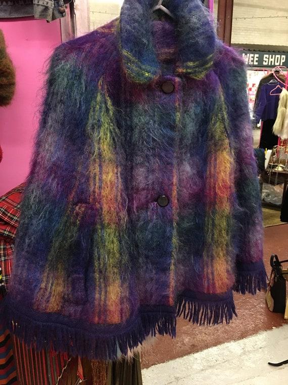 Vintage Mohair cape