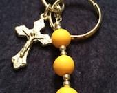 Handmade Rosary Key chain