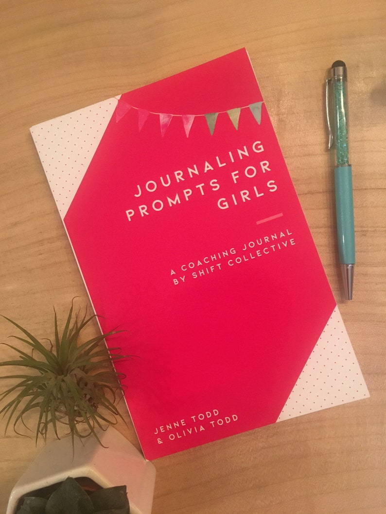 Guided Coaching Journals  Prompts for Girls image 0