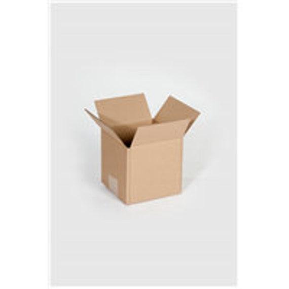 100 5x5x5 Custom Printed Cardboard Shipping Boxes Cartons Packing Moving Mailing Box