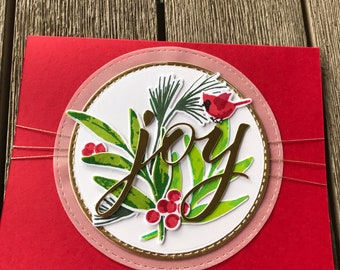 Handmade Season's Greetings - card