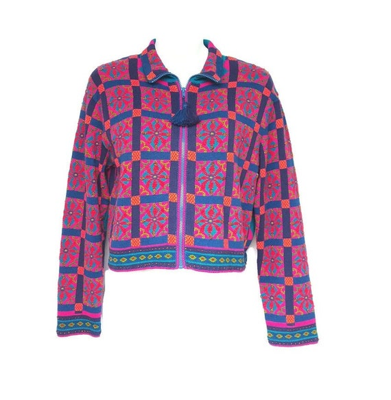 Michael Simon Sweater Womens Large Cardigan Vinta… - image 1